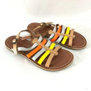 Kickers Girls Sandals Strappy Leather Slingback 2